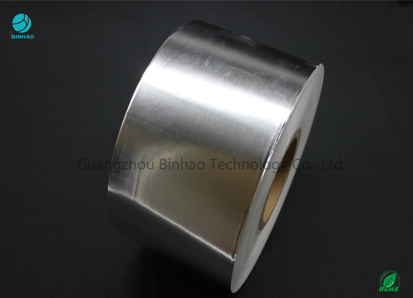 Glossy Silver Aluminum Foil Coated Paper For Tobacco Packaging In Plain Mass Production